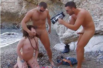 kanos hármasban pornó